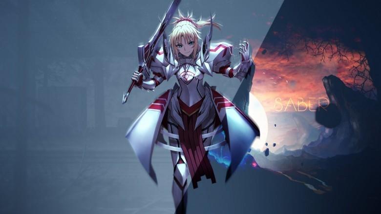 3-) Saber - Fate/Apocrypha