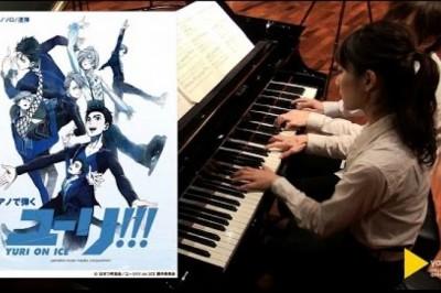 Profesyonel İki Piyanist'den Yuri!!! on Ice