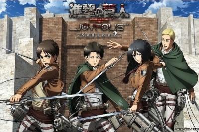 Attack on Titan İşbirliği Tokyo Joypolis'e Geri Dönüyor !!