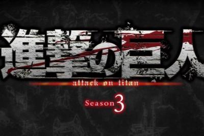 """""""Attack on Titan"""" Animesinin 3. Sezonu 2018'de Geliyor !!"""