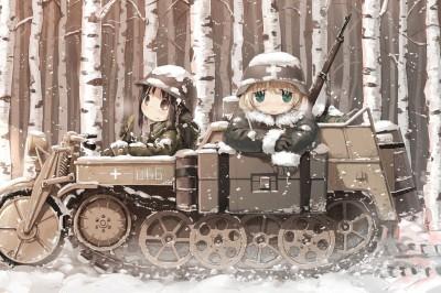 TV Anime Shoujo Shuumatsu Ryokou'nun Kadrosu Ve Tanıtım Videosu Yayınlandı