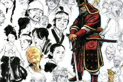 Kalemleri ile Harikalar Yaratan İnsanlar #2 (Kim Jung-Gi)