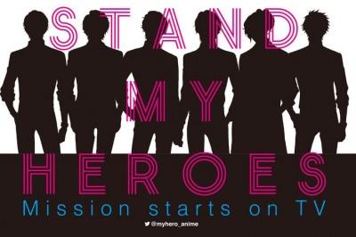 Stand My Heroes Oyun Uygulaması TV Anime Oluyor