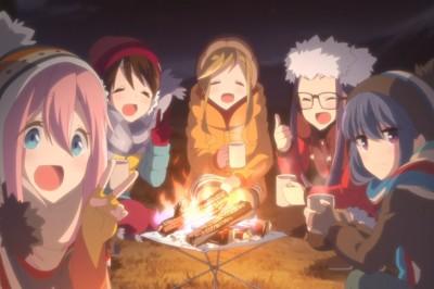 Laid-Back Camp Animesi Film Oluyor Ve Yeni Kısa Anime Başlayacak
