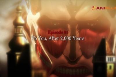 Shingeki no Kyojin Sezon 3. Sezon 2. Kısım, Nisan 2019'da Başlıyor