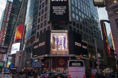 Yeni Fruits Basket Animesinin Görseli NY Times Square'de Görüldü