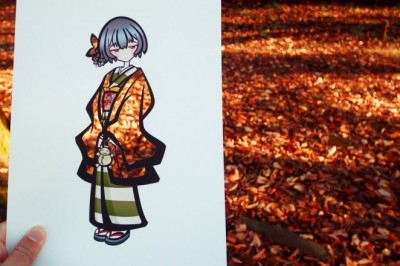 Japon Sanatçı Çizimleri Renklendirmenin İlginç Yöntemini Gösteriyor