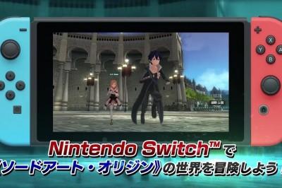 Sword Art Online: Hollow Realization Oyununun Switch Versiyonunun Videosu Yayınlandı