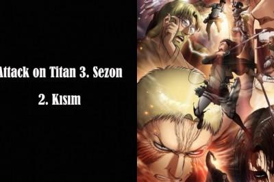 Attack on Titan'ın Yeni Sezonu İçin Çarpıcı Bir Görsel Yayınlandı